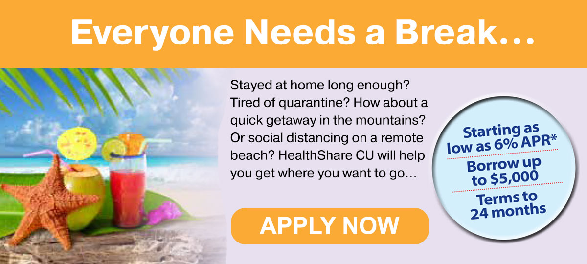 Everyone Needs a Break. Loans up to $5000 as low as 6% APR available