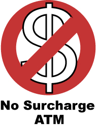 Find a No-Surcharge ATM
